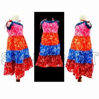 Foto Baju Batik Anak Solo