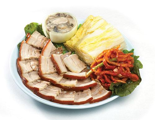Bossam Korean Food
