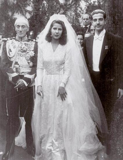 Cayetana Fitz James Stuart Duchess of alba wedding photos