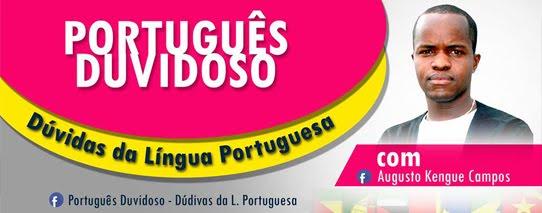 DÚVIDAS DA L. PORTUGUESA