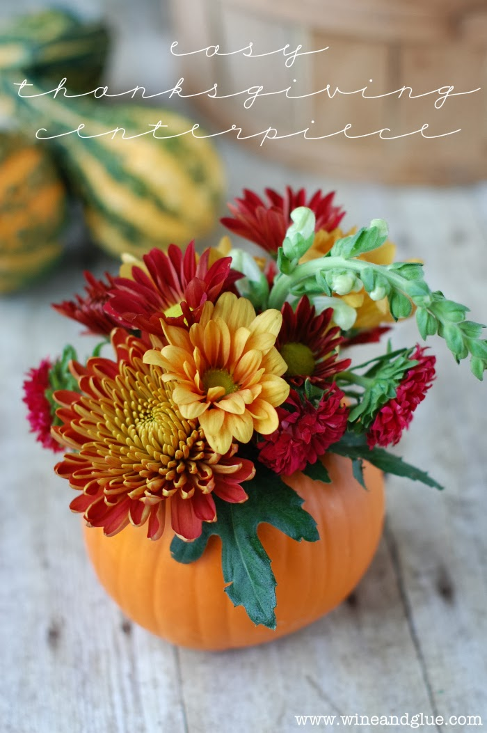 A sprinkle of this and that thanksgiving centerpiece ideas