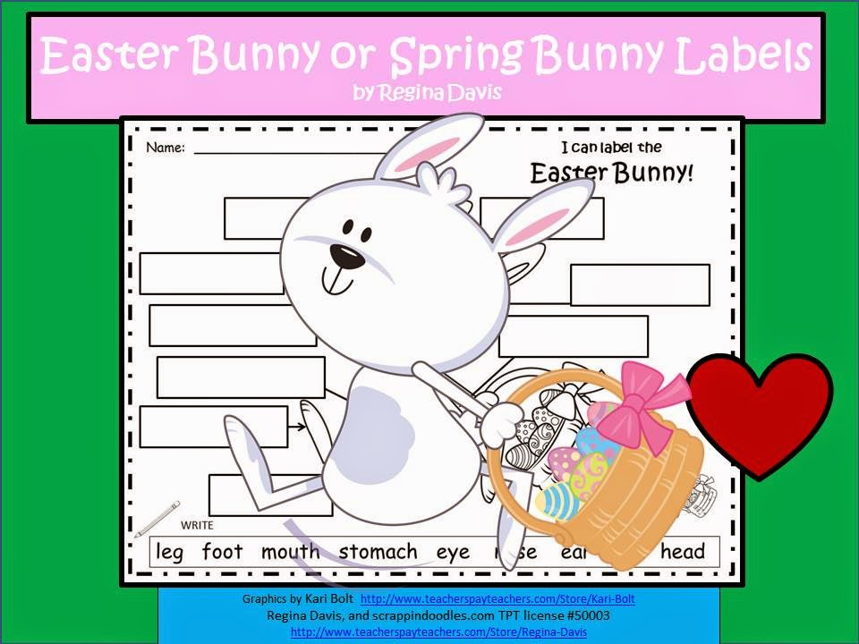 http://www.teacherspayteachers.com/Product/A-Easter-Bunny-or-Spring-Bunny-Labels-611134