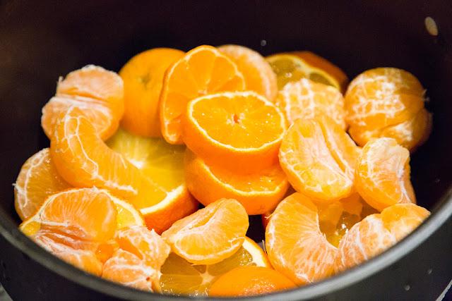 kuivat mandariinit