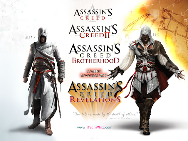 Assassins Creed Revelations 4 Wallpaper 1024 by www.iTechWhiz.com