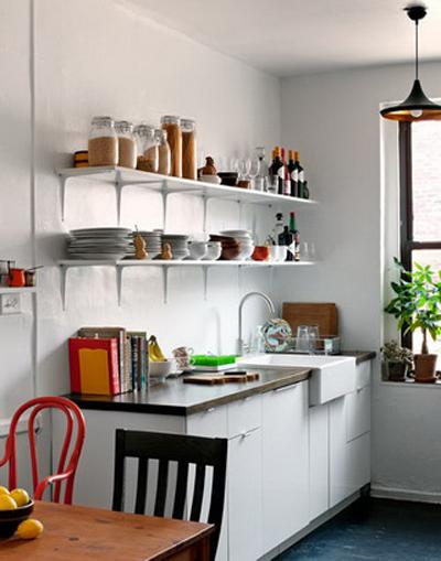 Decorole cocina repisas auxiliares for Repisas estilo industrial