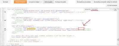 Membuat Widget Blog Hanya Tampil Pada Halaman Tertentu