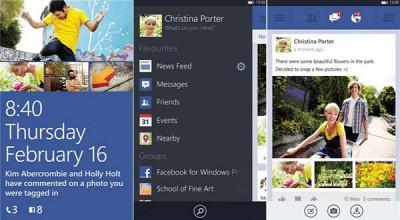 Facebook Versi Beta 7.8 untuk WP7.8 Terima Upate