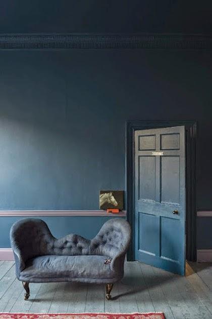Trending Interior 2015 - Stiffkey blue by Farrow and Ball