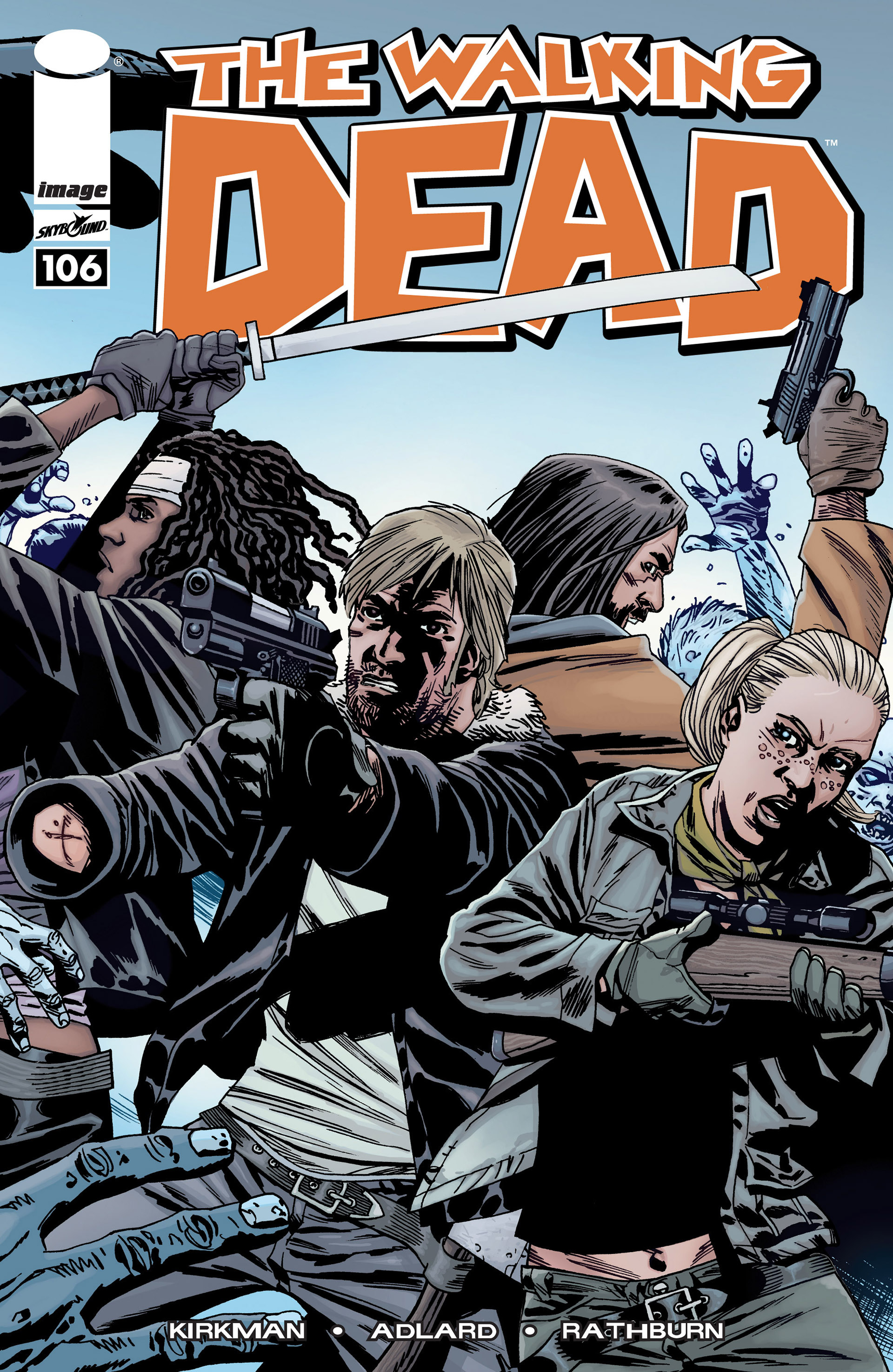 The Walking Dead 106 Page 1