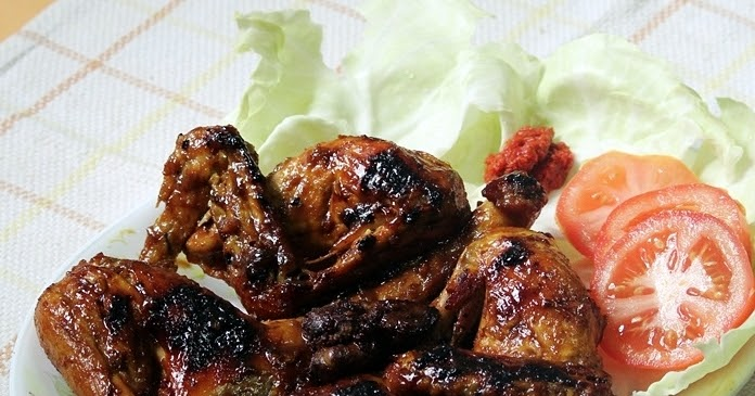I love i cook i bake indonesian style grilled chicken for Happy fish and chicken
