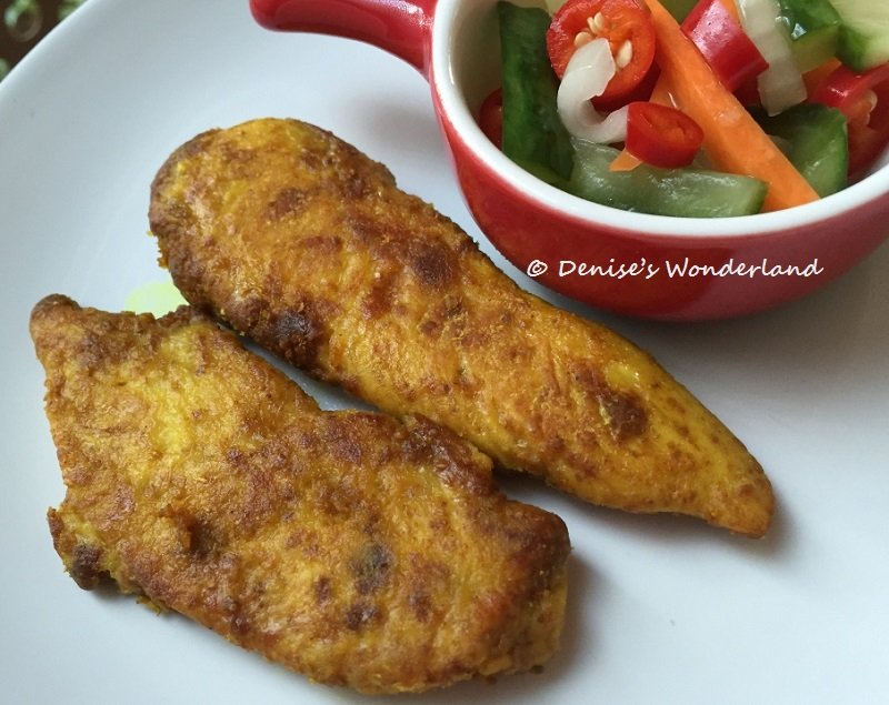 Grilled Curry Chicken Fillets Recipe