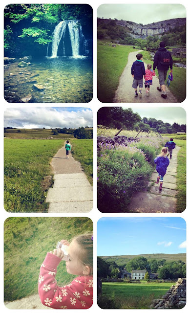 Exploring Malhamdale in north yorkshire with kids