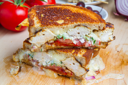 recipe: chicken souvlaki sandwich [31]