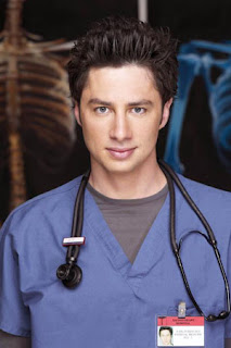 none of the doctors i saw yesterday were as cute as him