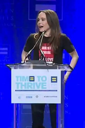 Ellen Page Coming Out Speech