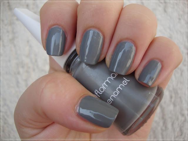 flormar grey nail polish