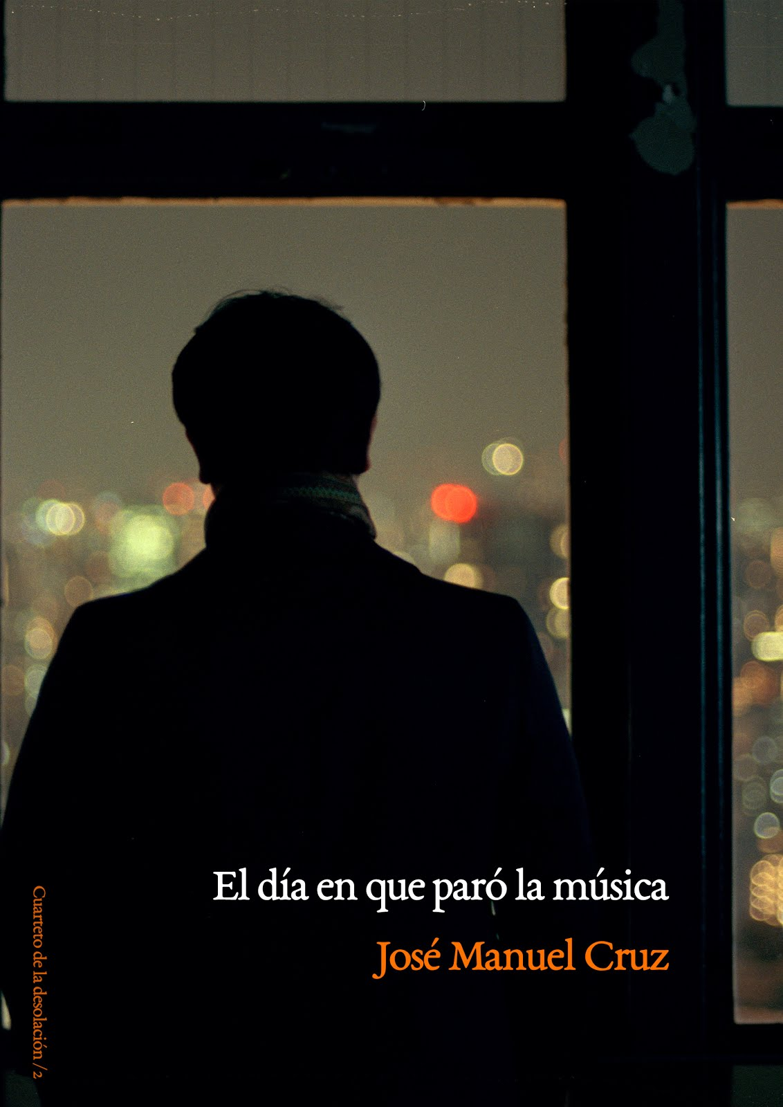 "Portada de mi novela ""El día en que paró la música"" (2014)"