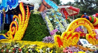 rute parade bunga di surabaya