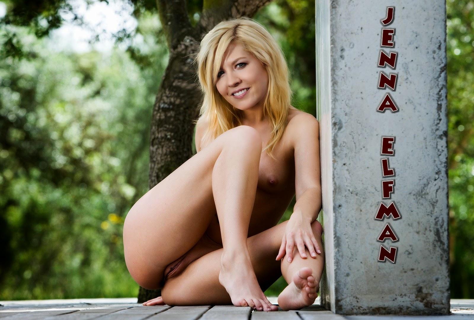 Nackt Bilder : Jenna Elfman Naked Photos   nackter arsch.com