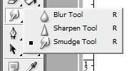 smudge7 Fungsi Smudge Tool di photoshop