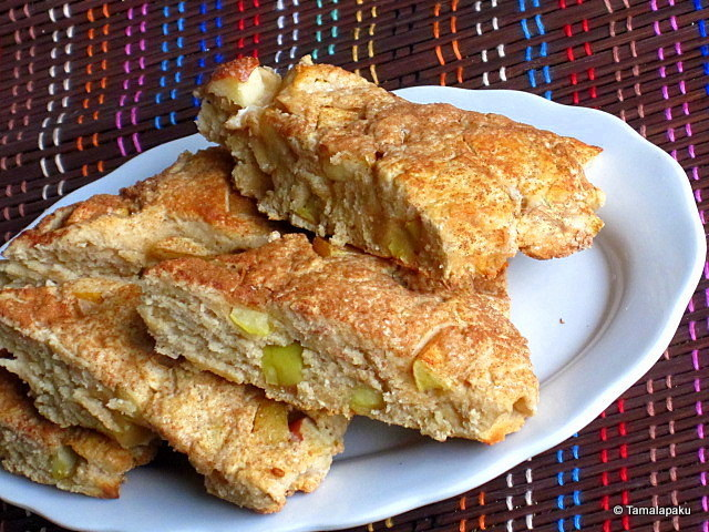 Eggless Apple Cinnamon Scones
