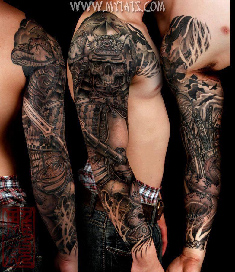 Skull Tattoo Sleeves
