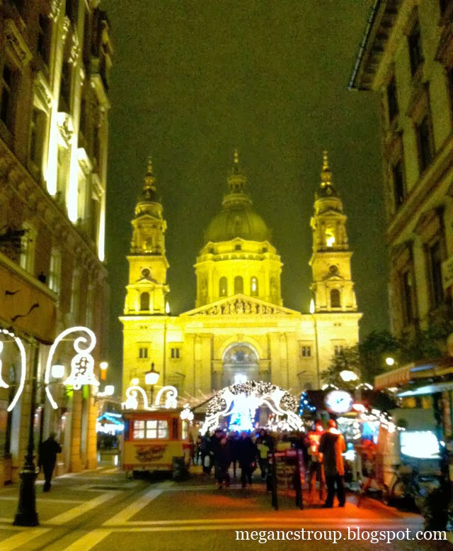 St. Stephen's Basilica in Budapest, Hungary, on Semi-Charmed Kind of Life