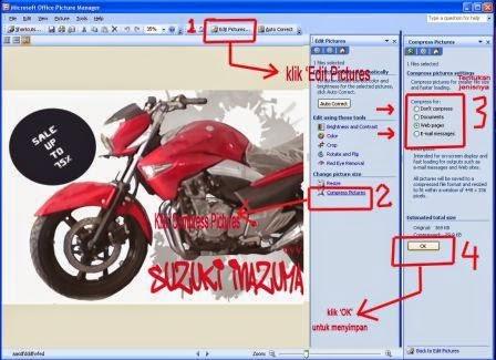 Cara Merubah Ukuran Gambar Dan Upload Gambar Untuk Postingan Blog