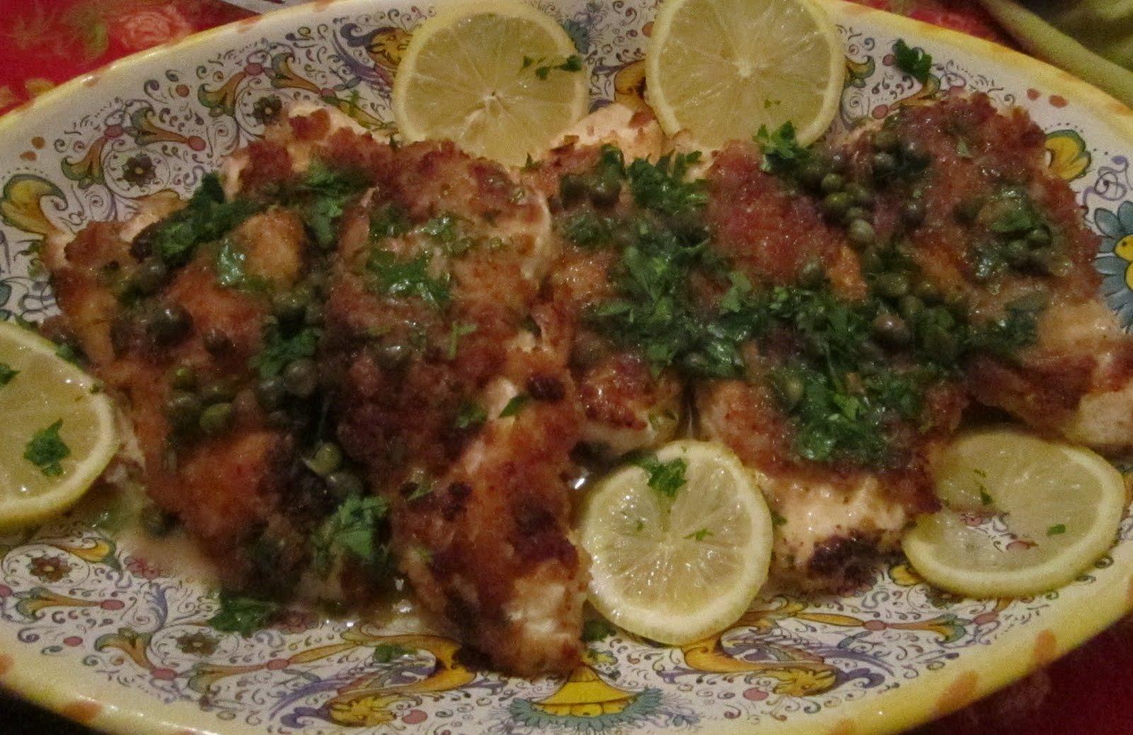 KnitOne,PearlOnion: Lemon Chicken Piccata