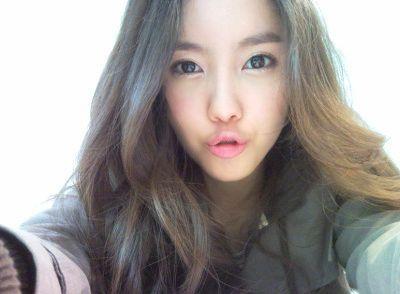 Hyomin (Park Sunyoung) T-Ara+Hyomin+Selca