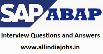 data dictionary in sap abap interview questions and answers