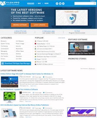 download software gratis filehippo