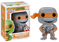 Funko Pop! Michelangelo Grayscale