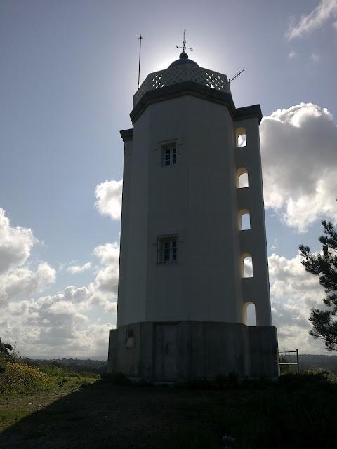 Faro Grande de Mera en Oleiros