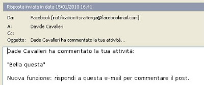 email commenti facebook