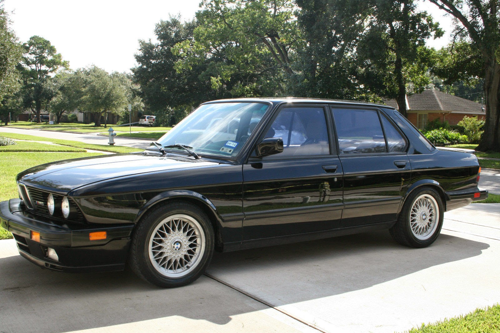 daily turismo 20k three owner 1988 bmw m5 e28. Black Bedroom Furniture Sets. Home Design Ideas