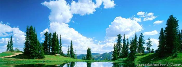 foto, paisaje, nubes, portada de facebook