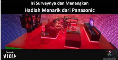 Info Survey - Survey Iklan TV Viera Berhadiah Menarik dari Panasonic