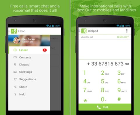 الدرس 18: تطبيق LIBON لعمل مكالمات مجانية نحو جميع أنحاء العالم
