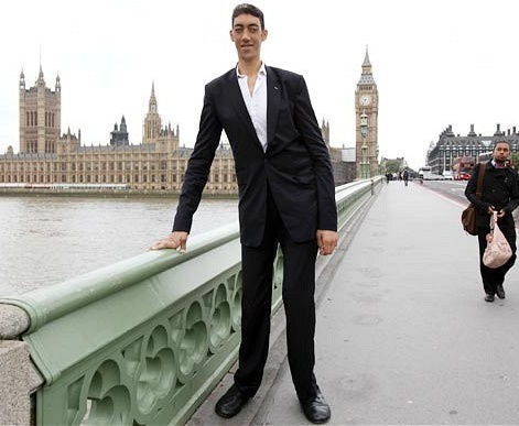 sultan kosen worlds tallest man 2012 world records