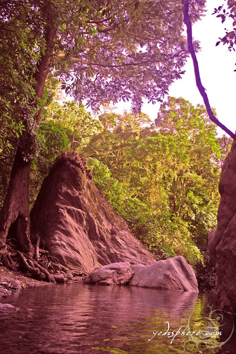 Secluded spots in Calawagan River