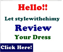 Lets Review Your Dress
