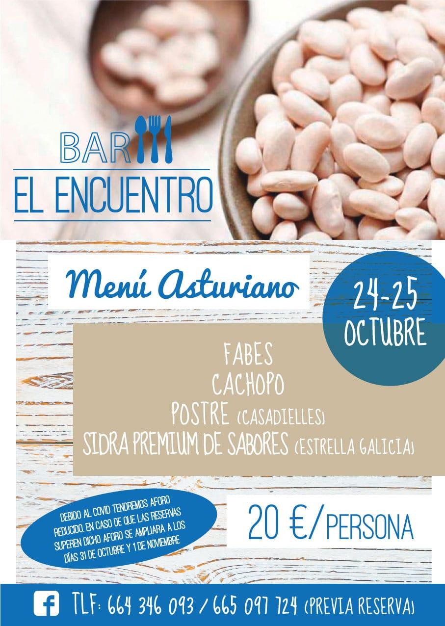 """El mejor Menú Asturiano en """"El Encuentro"""""""
