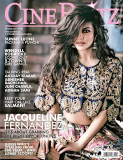 Jacqueline Fernandez in Designer Ethnic Western Outfits for Cineblitz Magazine September 2015