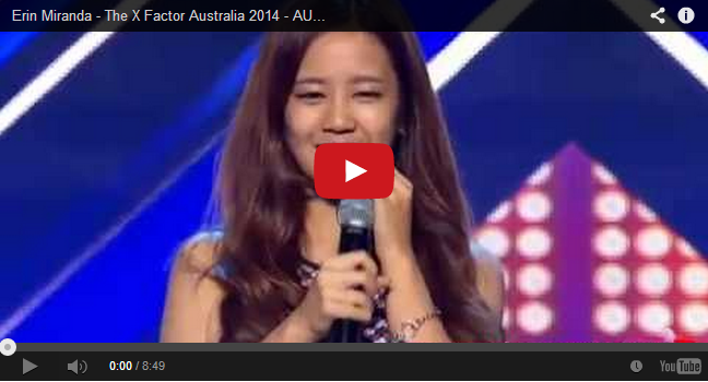 Pinoy named Erin Miranda performed 'And I Am Telling You' Got Standing Ovation at X-Factor Australia