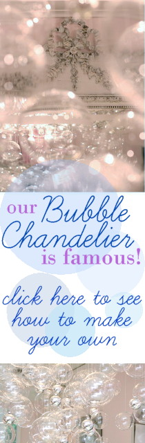 Bubble Chandelier DIY