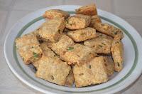 печенье с отрубями и луком: выпечь печенье в духовке