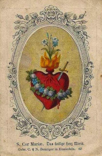 Imaculado Coração de Maria, rogai por nós agora e na hora de nossa morte!