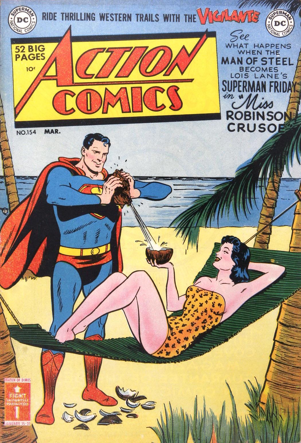 Action Comics (1938) 154 Page 1