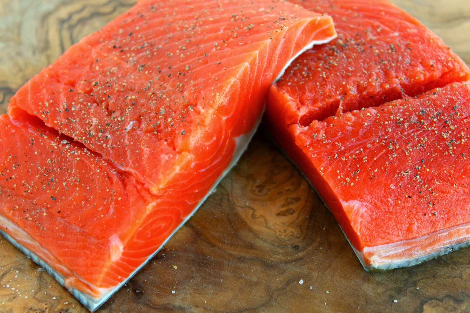 SALMON (Both Wild-caught and Farmed)